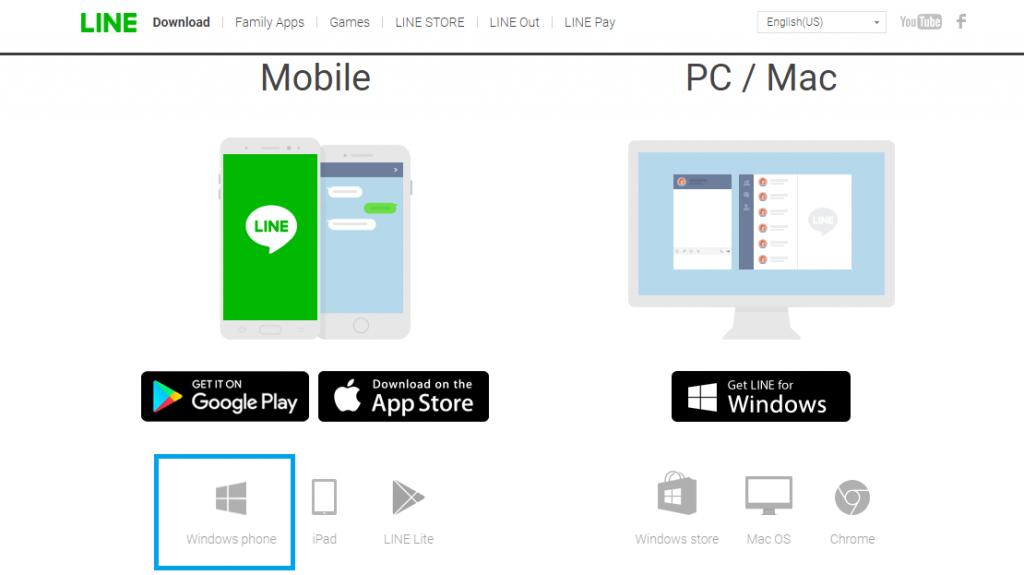 Click on Windows Phone