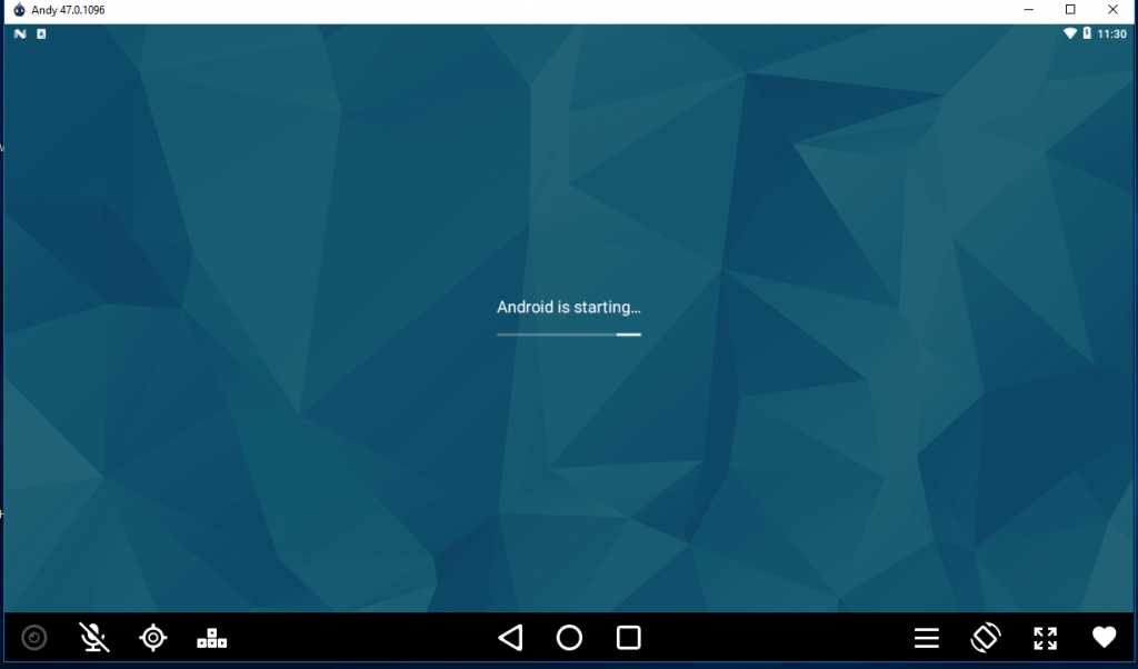 Android is starting