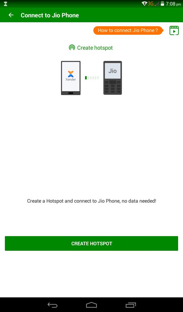 Click Create Hotspot