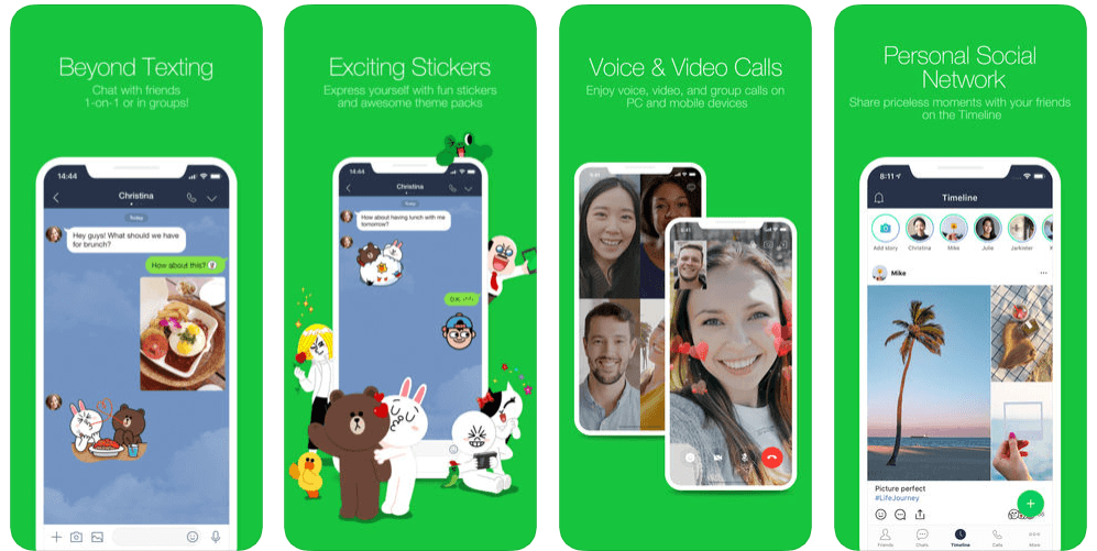 LINE for iOS/ iPhone/ iPad Download [Latest Version]