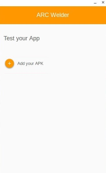 Click on Add your Apk