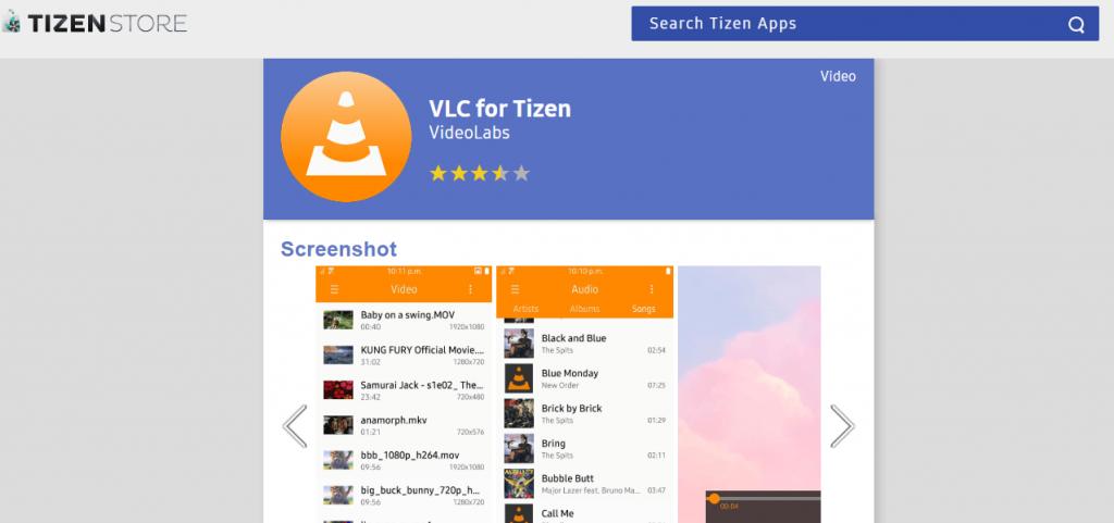 MX Player Tizen Alternative