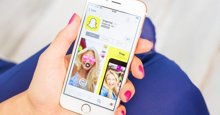 Snapchat for iOS – iPhone/ iPad Download [New Version]