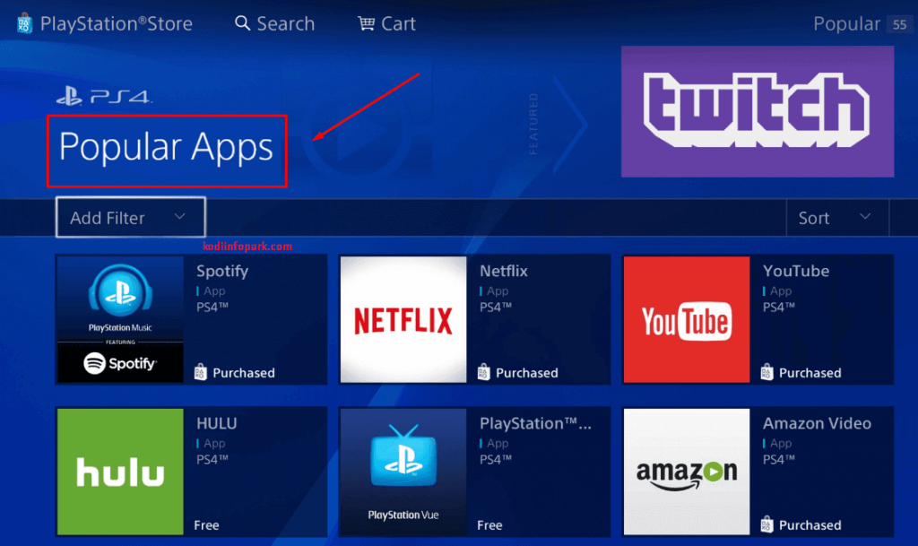 Select Popular Apps