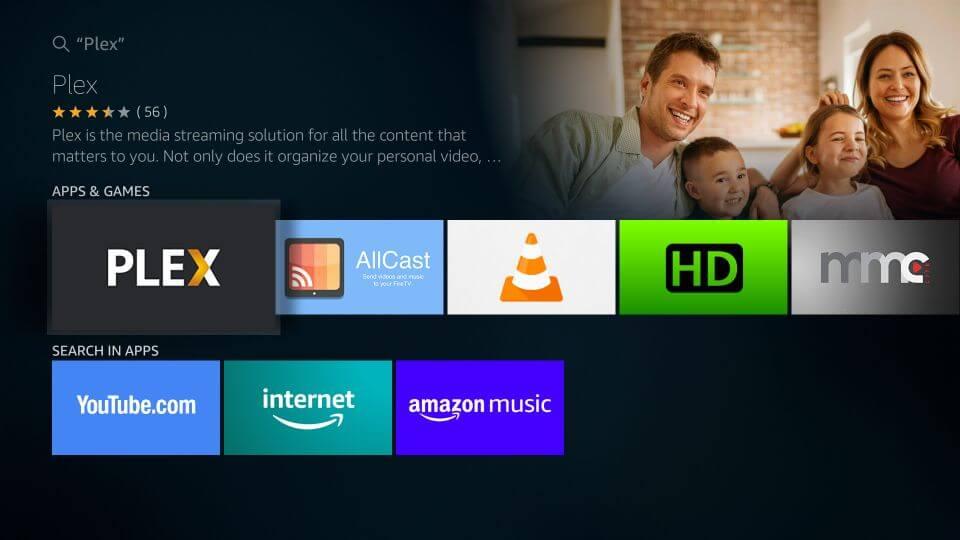 Plex app for Fire TV