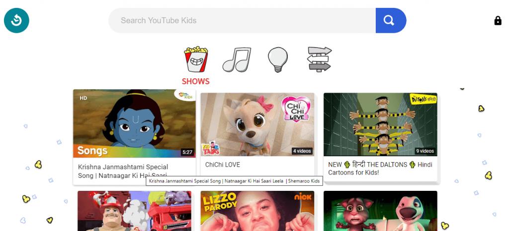 YouTube Kids Online