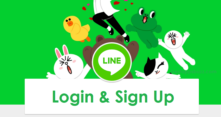 How to Login LINE / Create a LINE account (Sign Up)