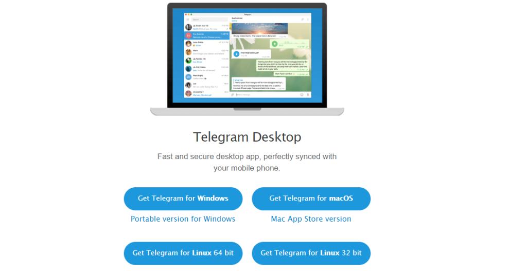 Telegram Linux Install