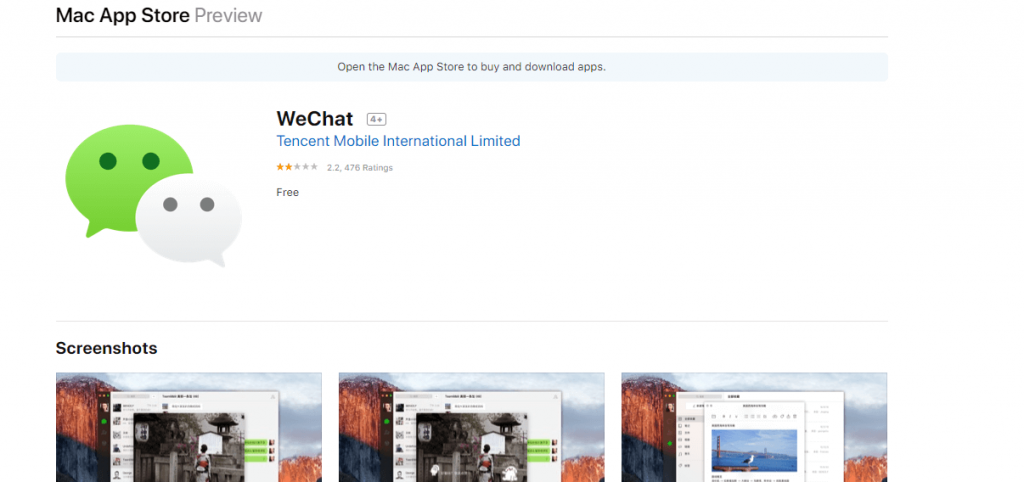 WeChat Download for Mac