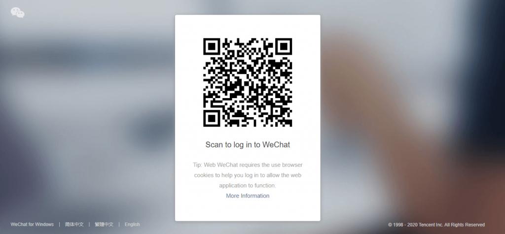 WeChat Web Login