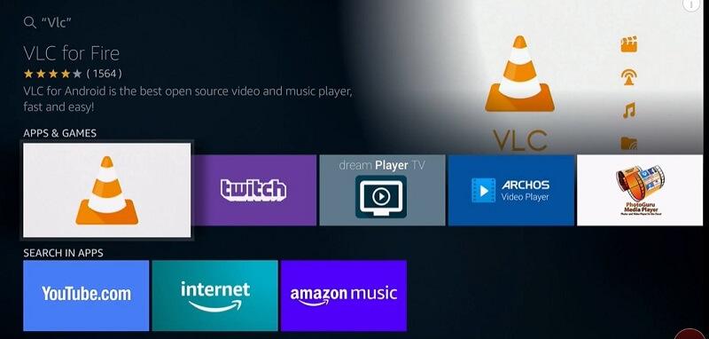 Select VLC Player
