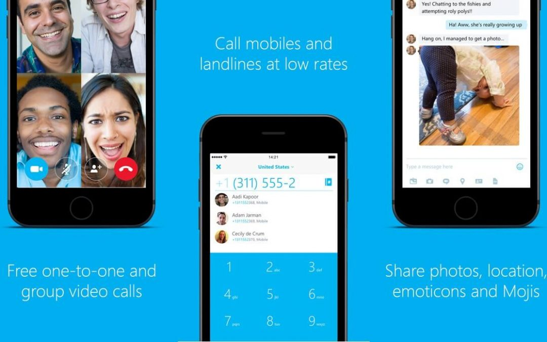 Skype for iOS – iPhone/iPad Download [New Version]